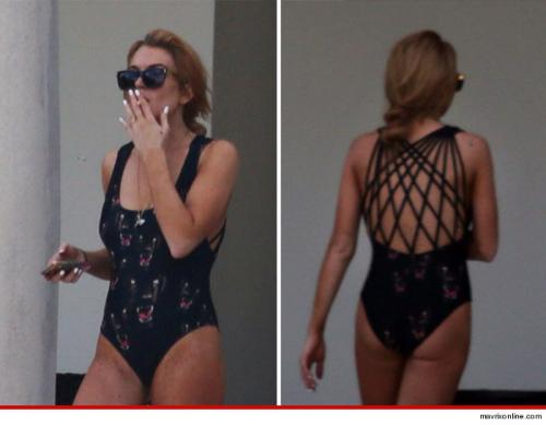 Lindsay Lohan -- CHECK OUT MY…