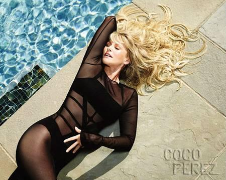 Christie Brinkley Poses In A…