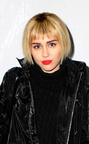 Miley Cyrus Debuts Short Bob…