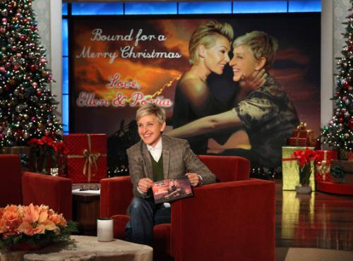 Ellen DeGeneres and Portia de…