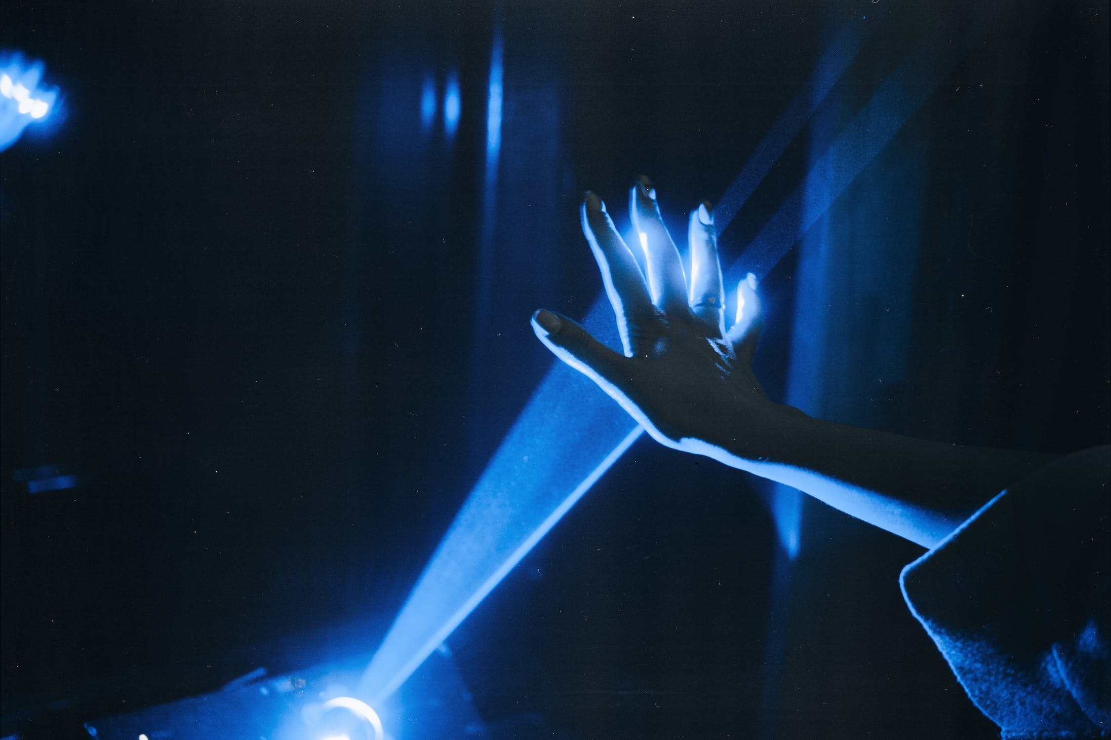blue laser