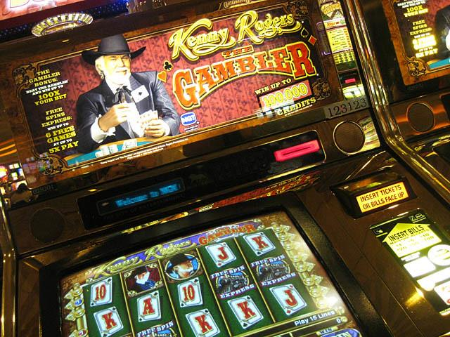 kenny rodgers slot machine